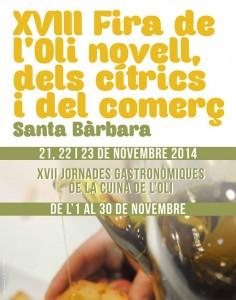 VIII Fira d'oli Novell, cítrics i comerç a Santa Bàrbara